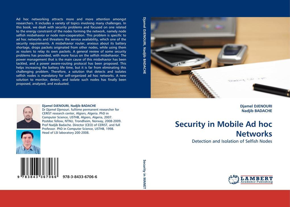 Security in Mobile Ad hoc Networks als Buch (gebunden)