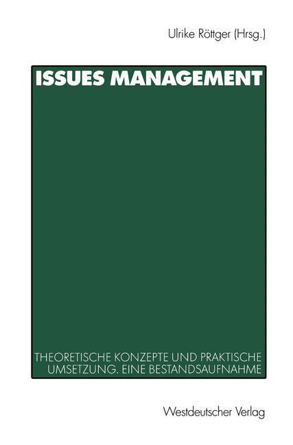 Issues Management als Buch (kartoniert)