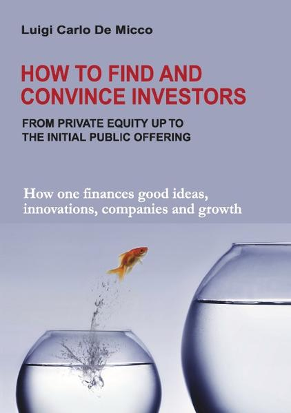 How to Find and Convince Investors als Buch (gebunden)