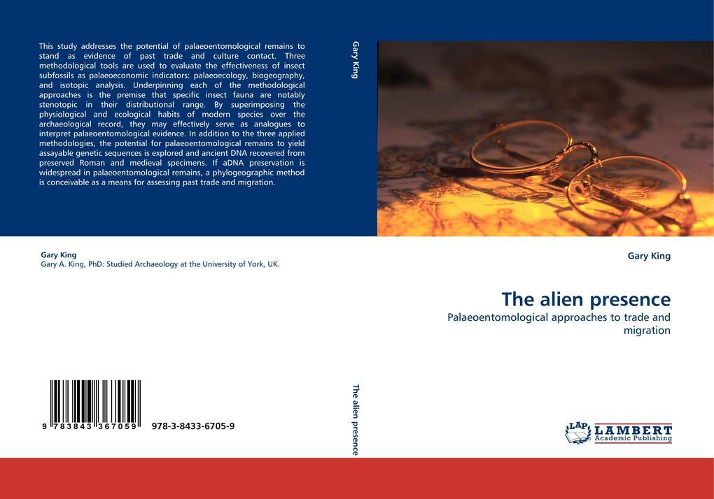The alien presence als Buch (kartoniert)