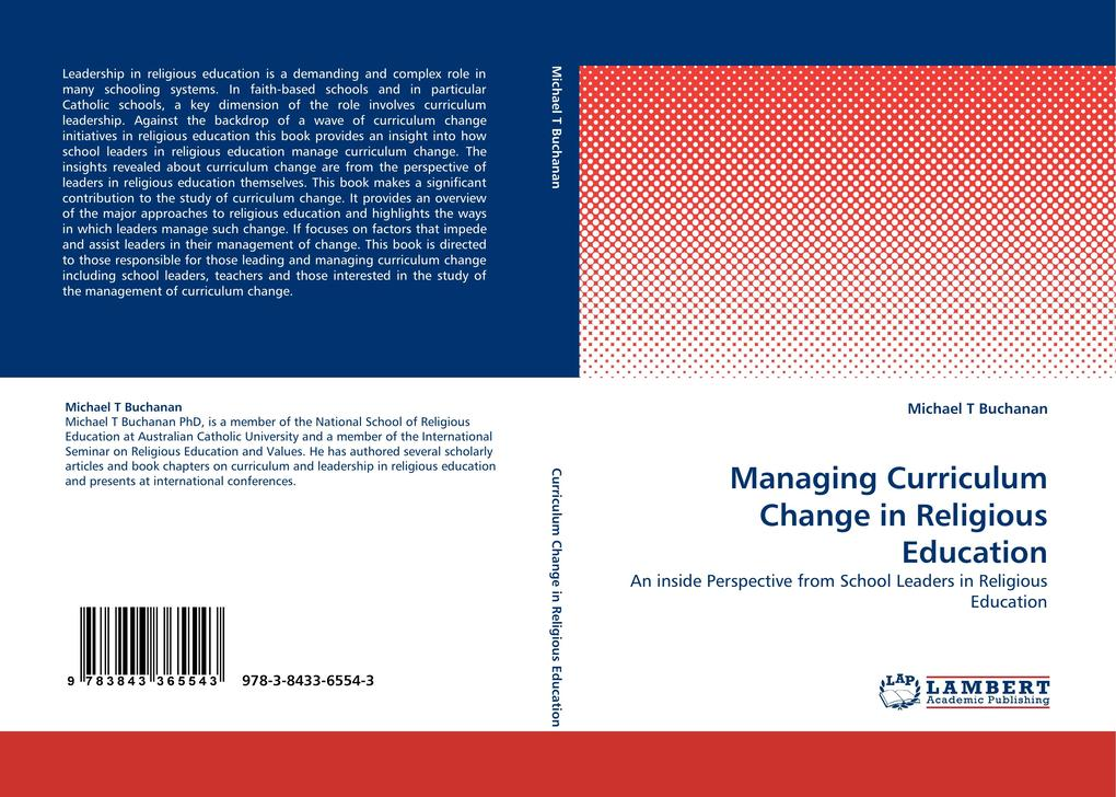 Managing Curriculum Change in Religious Education als Buch (gebunden)