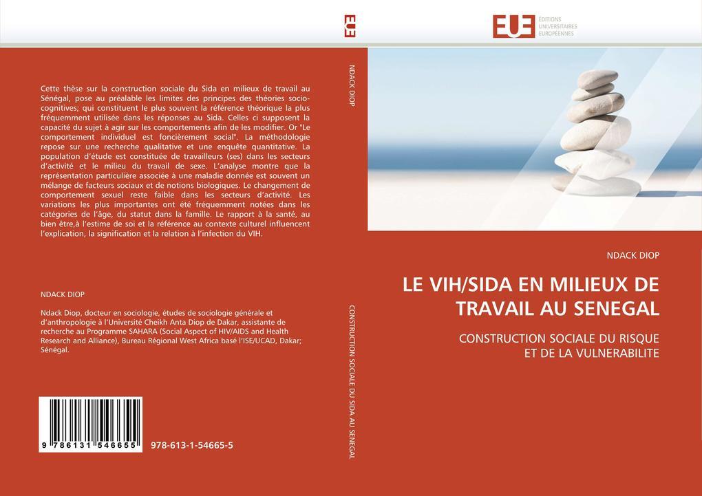 LE VIH/SIDA EN MILIEUX DE TRAVAIL AU SENEGAL als Buch (kartoniert)