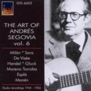 Die Kunst Des Andres Segovia,Vol.6 als CD