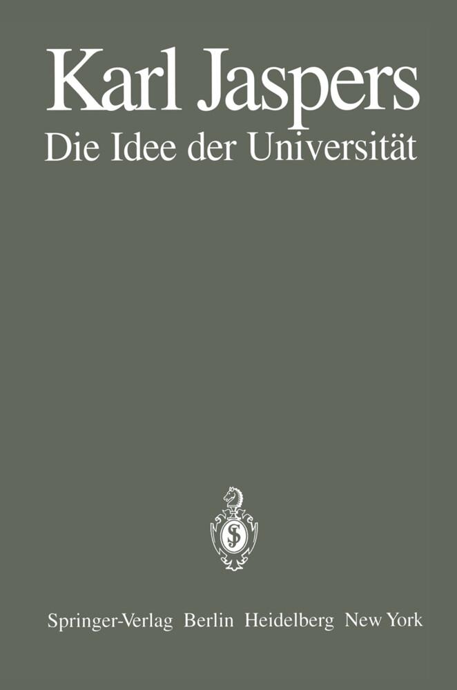 Die Idee der Universität als Buch (kartoniert)