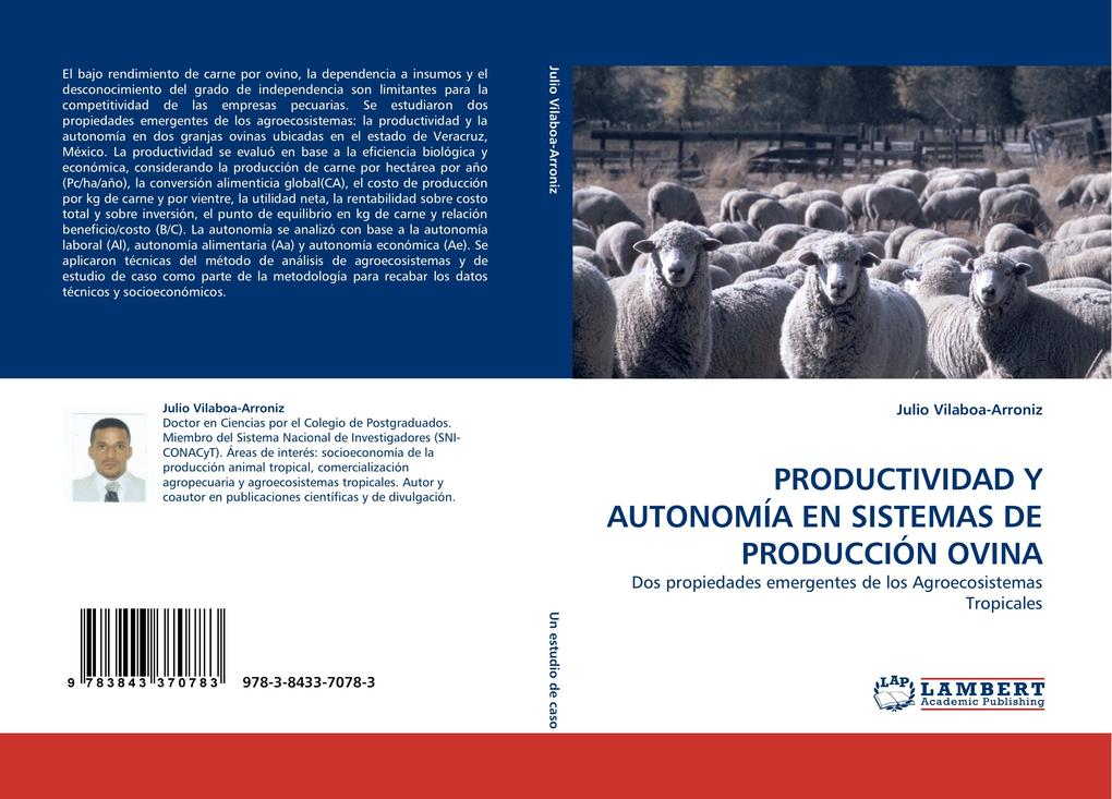 PRODUCTIVIDAD Y AUTONOMÍA EN SISTEMAS DE PRODUCCIÓN OVINA als Buch (gebunden)