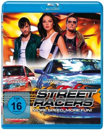 Streetracers - More Speed, more Fun! als Blu-ray
