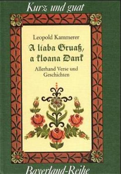 A liaba Gruaß, a kloana Dank als Buch (gebunden)