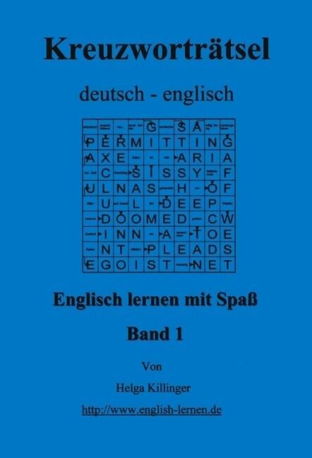 Englisch lernen mit Spaß. Kreuzworträtsel deutsch-englisch als Buch (kartoniert)