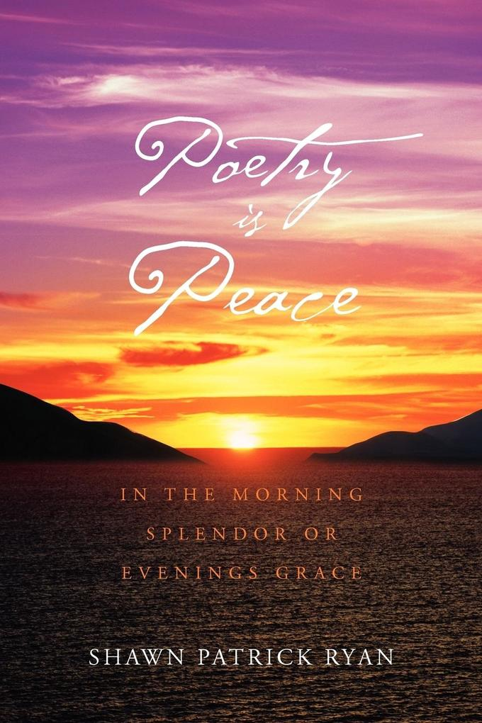 Poetry Is Peace als Taschenbuch