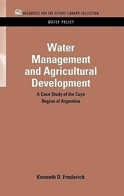 Water Management and Agricultural Development als Buch (gebunden)