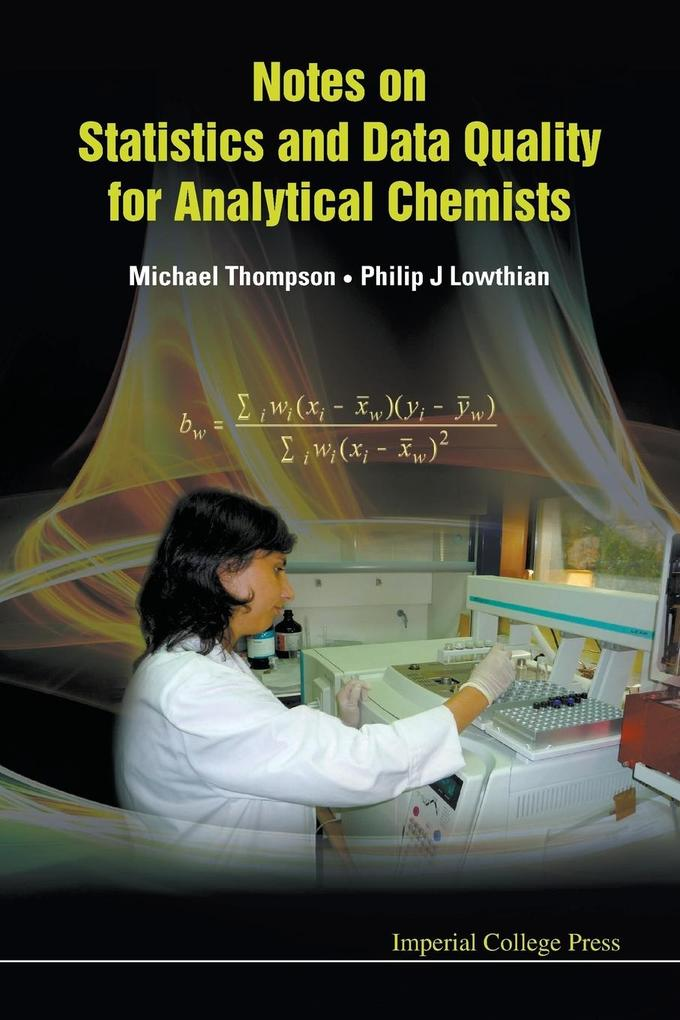 Notes on Statistics and Data Quality for Analytical Chemists als Taschenbuch