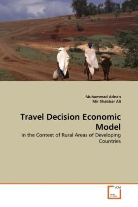 Travel Decision Economic Model als Buch (kartoniert)