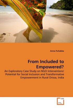 From Included to Empowered? als Buch (gebunden)