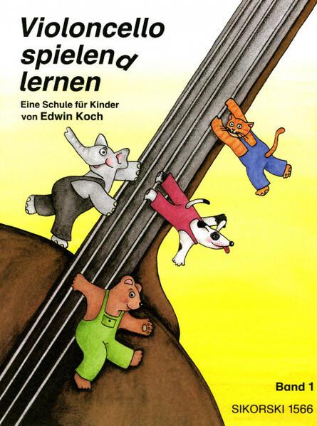 Violoncello spielen(d) lernen I als Buch (kartoniert)