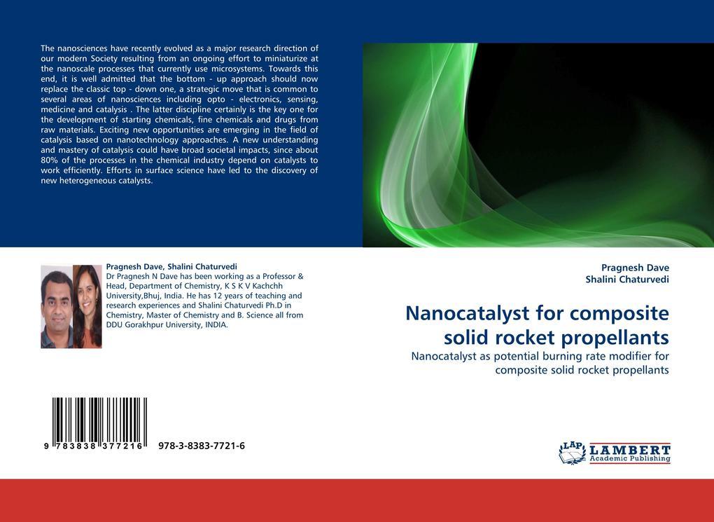 Nanocatalyst for composite solid rocket propellants als Buch (gebunden)