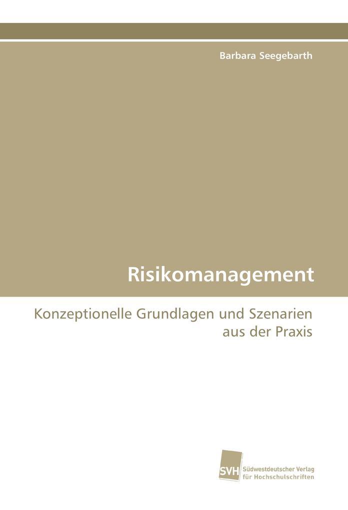 Risikomanagement als Buch (gebunden)