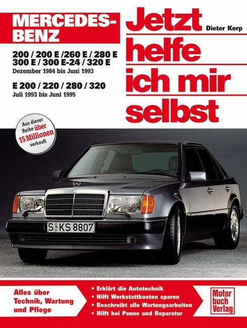 Mercedes-Benz 200-320 E (W 124) als Buch (kartoniert)