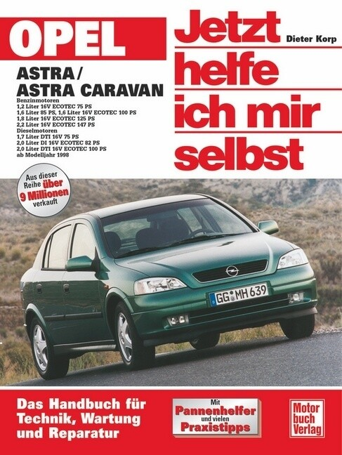 Opel Astra G als Buch (kartoniert)