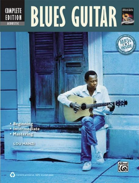 Complete Acoustic Blues Guitar Method Complete Edition: Book & MP3 CD [With CD (Audio)] als Taschenbuch