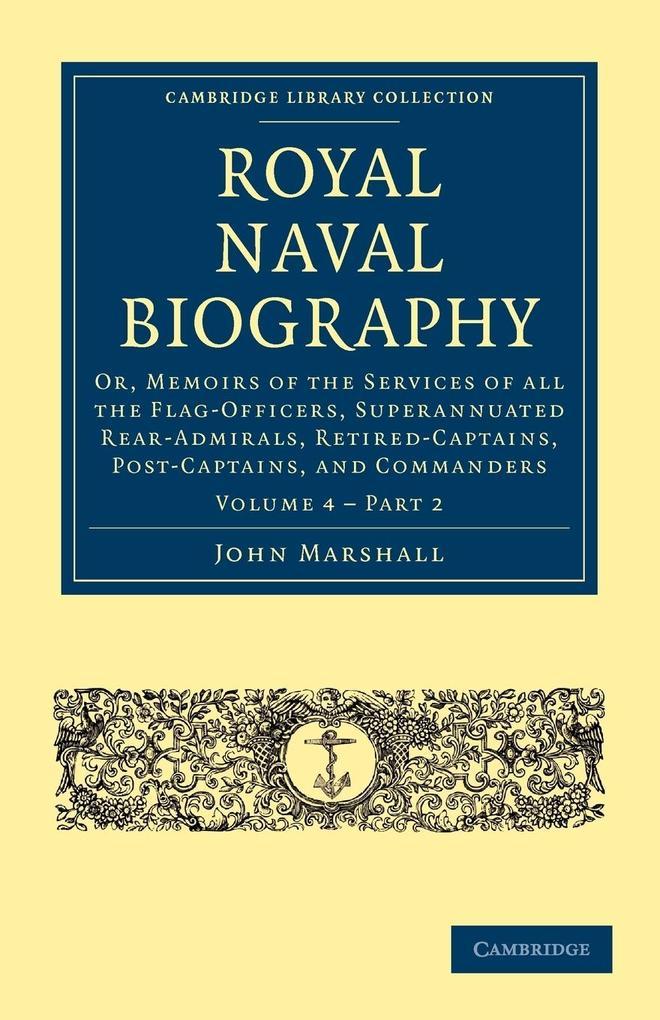 Royal Naval Biography - Volume 4 als Taschenbuch