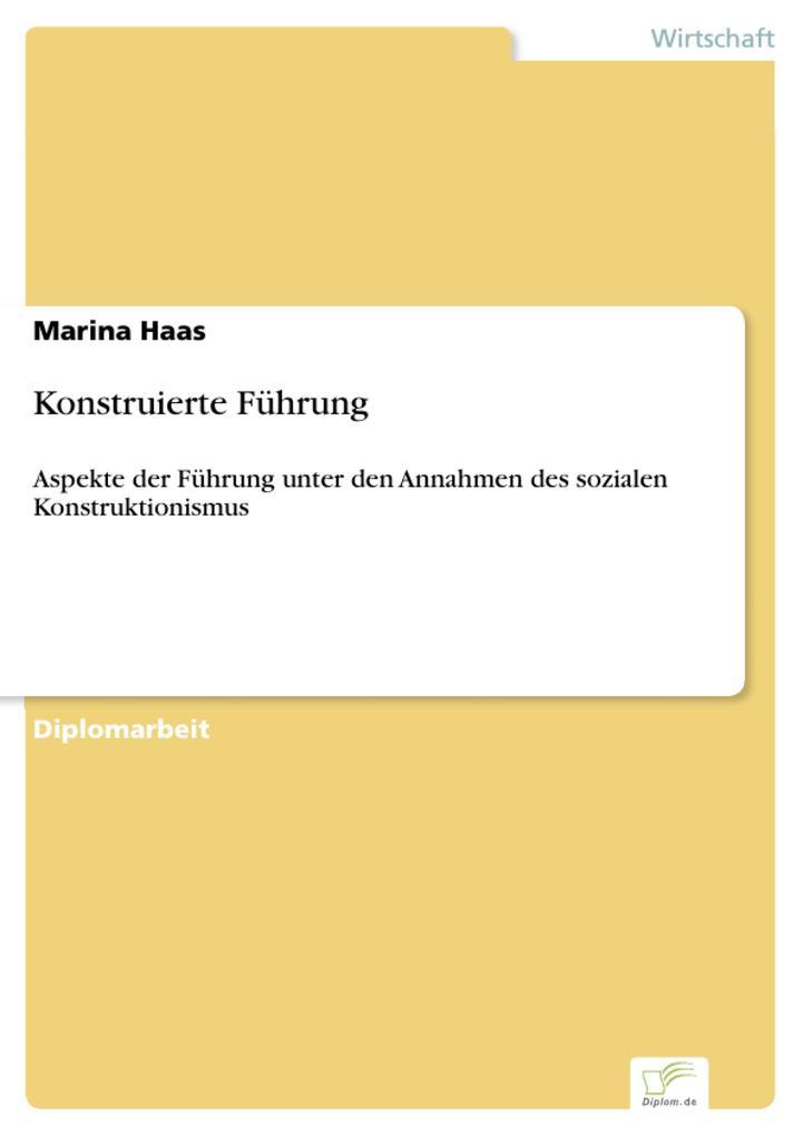 Konstruierte Führung als eBook pdf