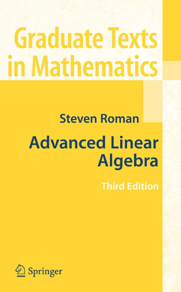 Advanced Linear Algebra als Buch (gebunden)