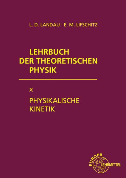 Physikalische Kinetik als Buch (gebunden)