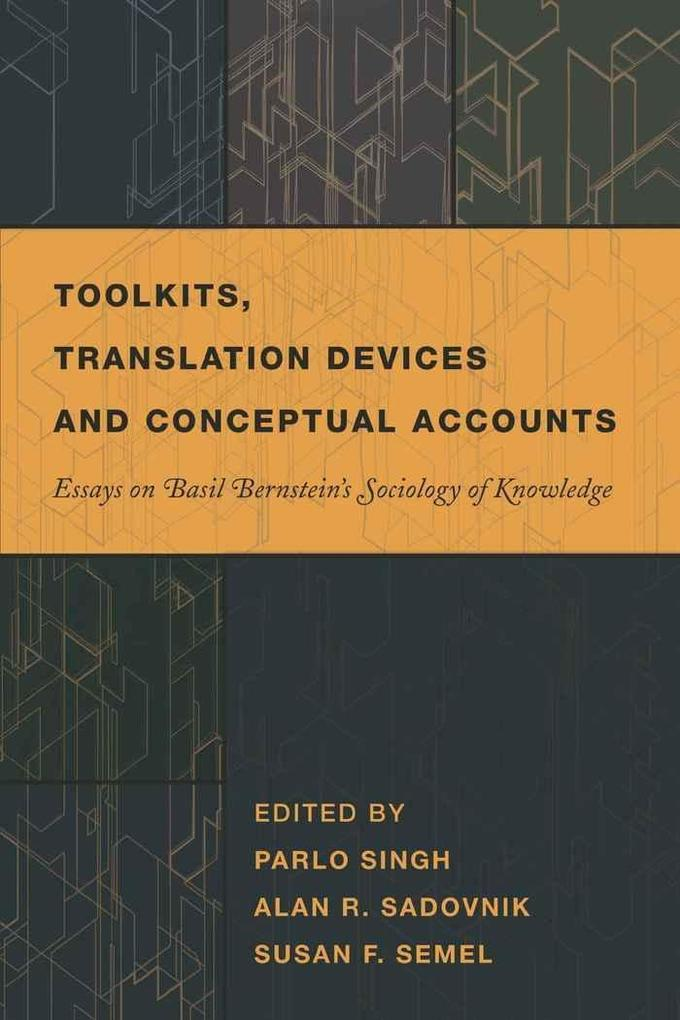 Toolkits, Translation Devices and Conceptual Accounts als Buch (gebunden)