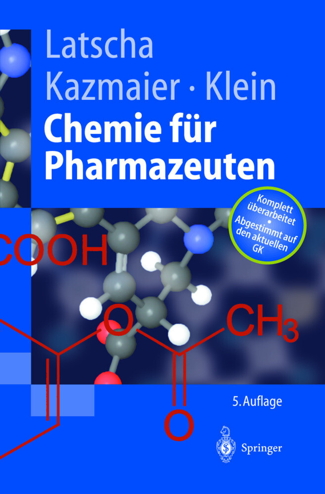 Chemie für Pharmazeuten als Buch (kartoniert)