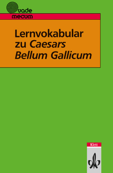 Lernvokabular zu Caesars Bellum Gallicum als Buch (kartoniert)