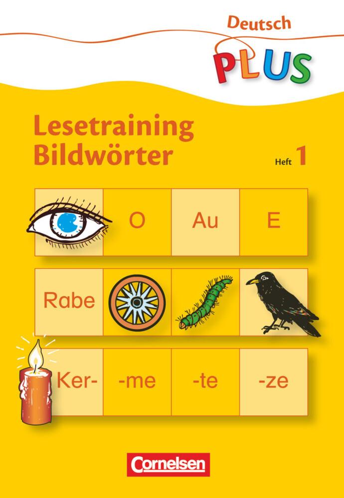 Lesetraining Bildwörter Heft 1 als Buch (kartoniert)
