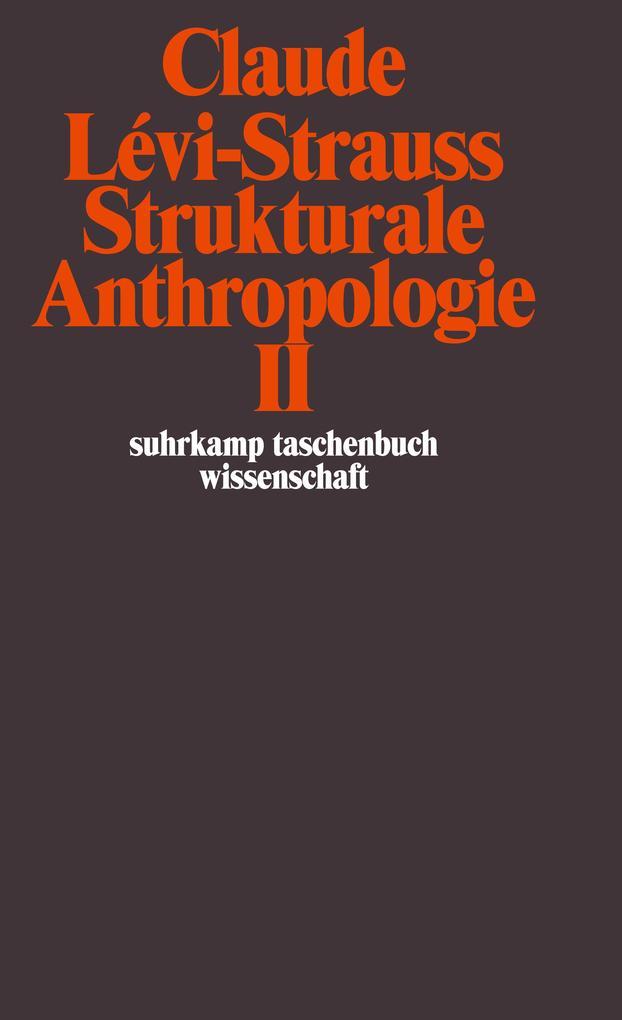 Strukturale Anthropologie II als Taschenbuch