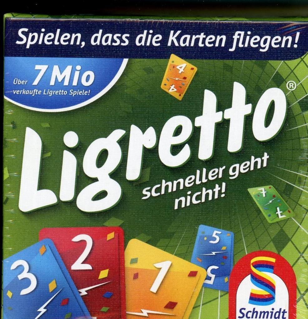 Schmidt Spiele - Ligretto grün als Spielware
