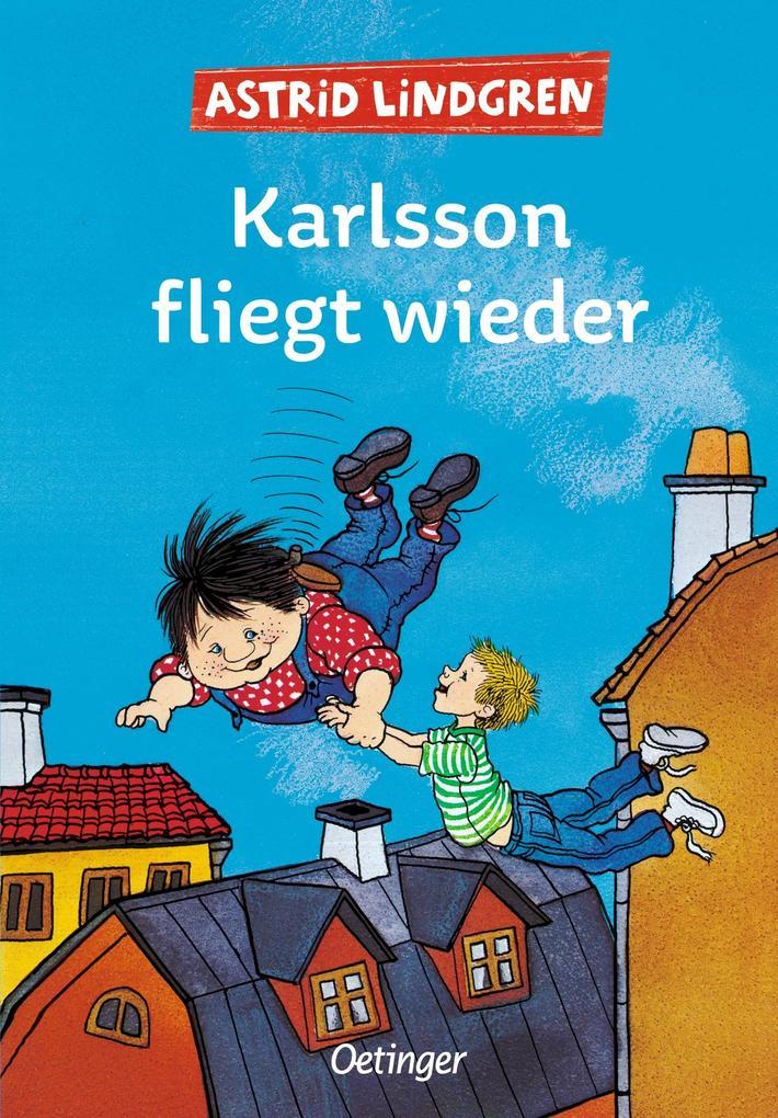 Karlsson fliegt wieder als Buch (gebunden)