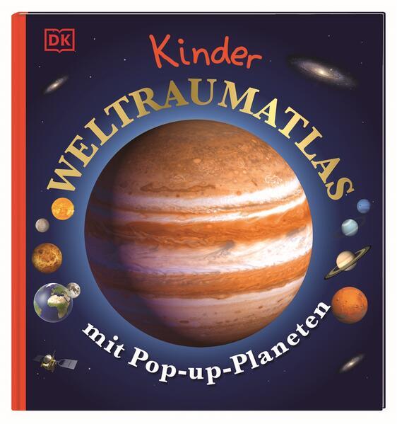 Kinder-Weltraumatlas mit Pop-up-Planeten als Buch (gebunden)