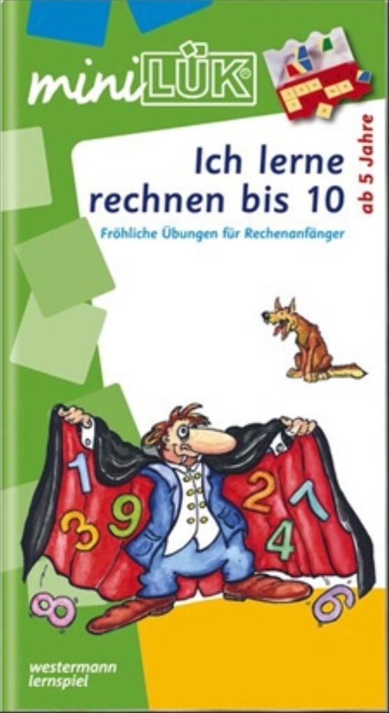 miniLÜK - Ich lerne rechnen bis 10 als Buch (geheftet)