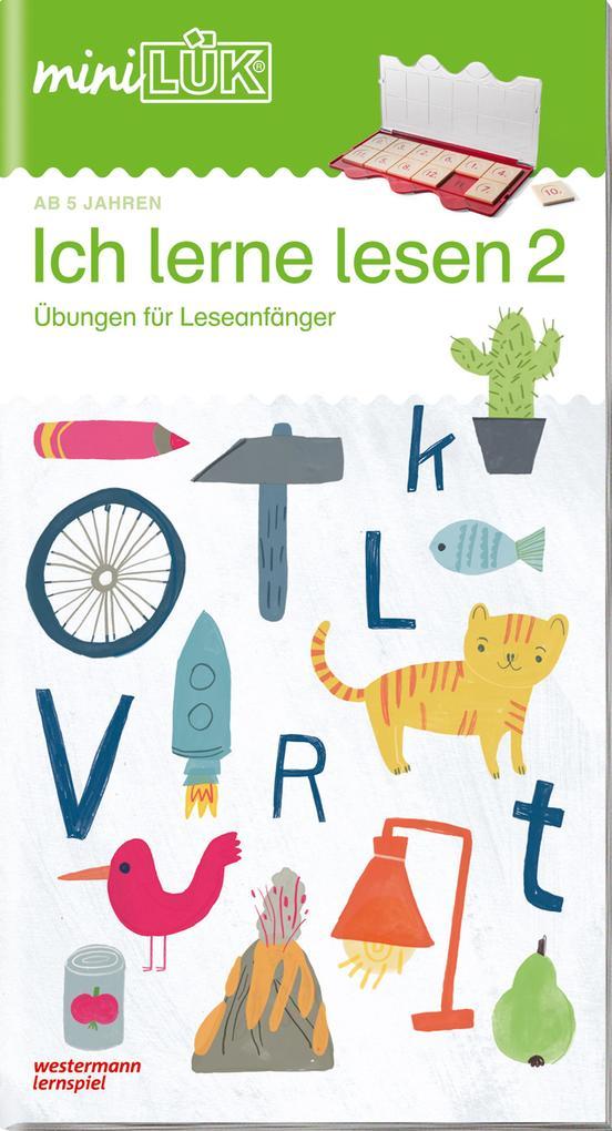 miniLÜK - Ich lerne lesen 2 als Buch (geheftet)