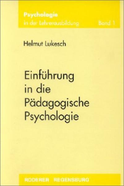 Einführung in die Pädagogische Psychologie als Buch (kartoniert)