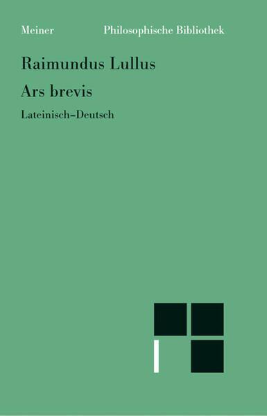 Ars brevis als Buch (kartoniert)