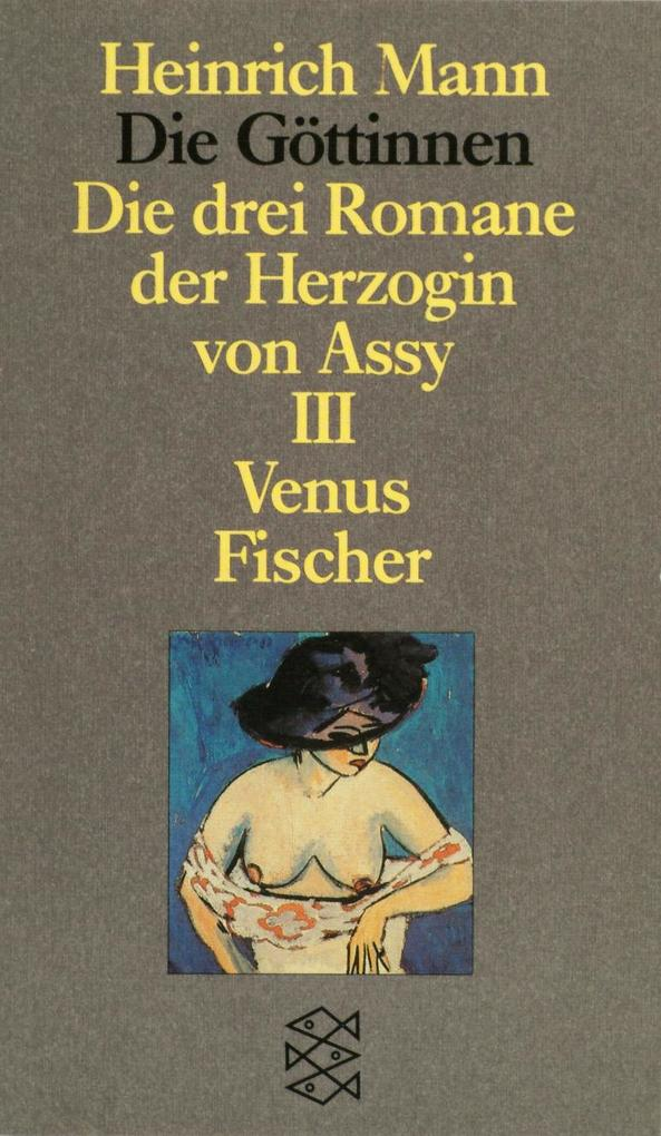 Die Göttinnen III. Venus als Taschenbuch