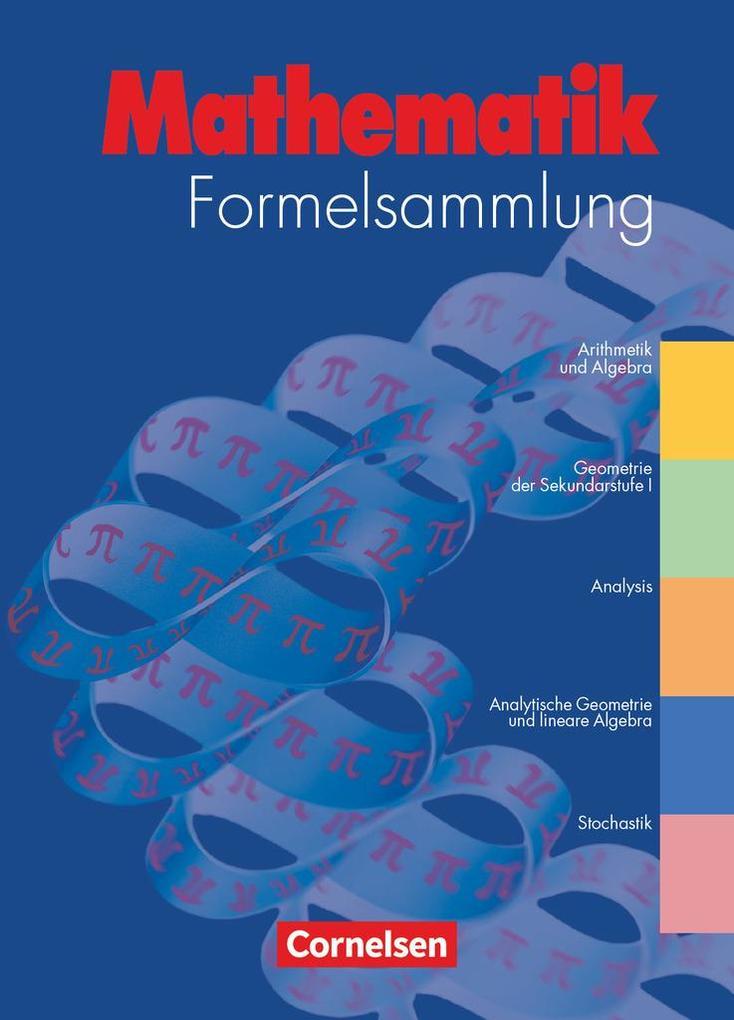 Mathematik Formelsammlung als Buch (kartoniert)