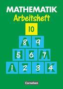 Mathematik 10. Arbeitsheft. Neue Ausgabe für Sonderschulen