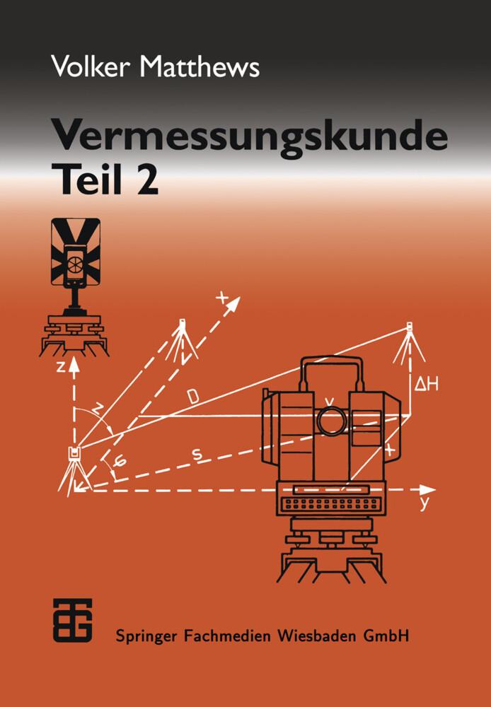 Vermessungskunde. Tl.2 als Buch (kartoniert)
