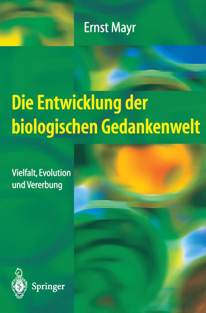 Die Entwicklung der biologischen Gedankenwelt als Buch (kartoniert)