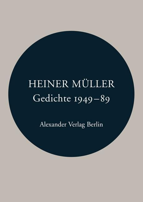 Gedichte 1949-1989 als Buch (kartoniert)