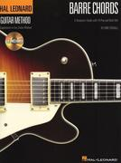 Barre Chords: A Beginner's Guide with 18 Pop and Rock Hits Hal Leonard Guitar Method [With CD (Audio)]