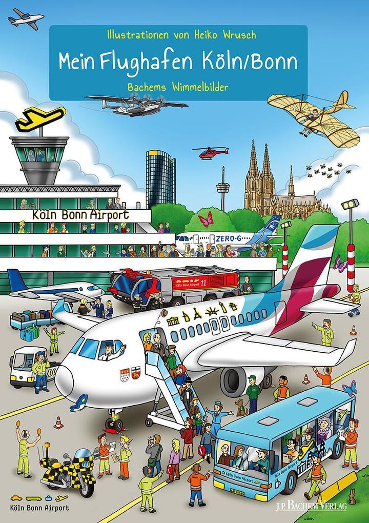 Mein Flughafen Köln/Bonn als Buch (kartoniert)