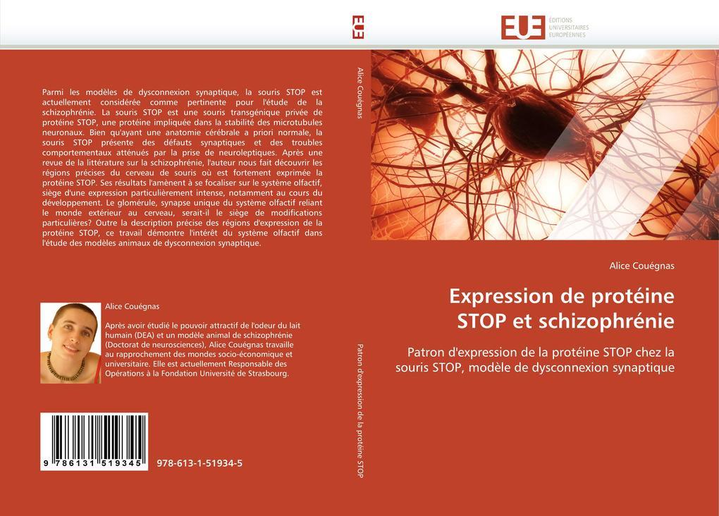 Expression de protéine STOP et schizophrénie als Buch (gebunden)