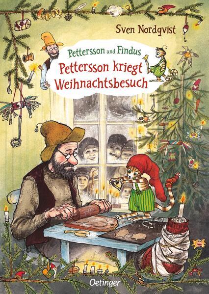 Pettersson kriegt Weihnachtsbesuch als Buch (gebunden)