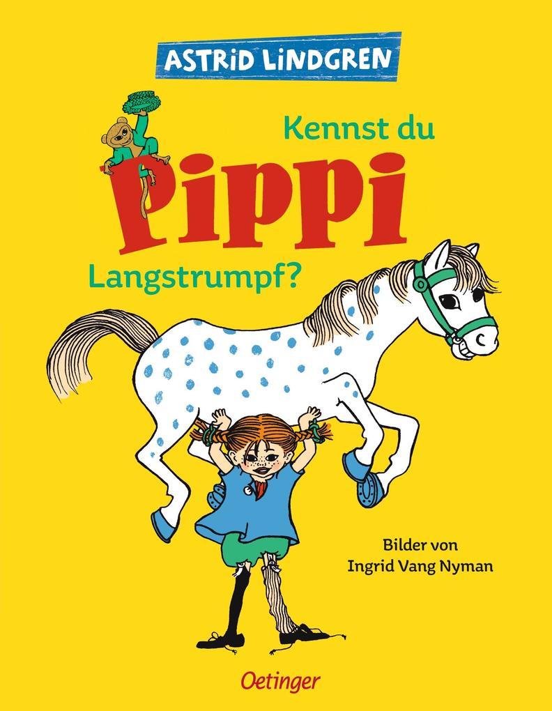 Kennst du Pippi Langstrumpf? als Buch (gebunden)
